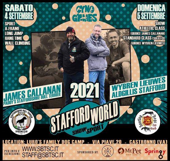 the stafford world2021